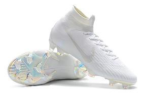 fc87e8036c1dd Chuteira Mercurial Nike Branca E Dourada - Esportes e Fitness com Ofertas  Incríveis no Mercado Livre Brasil