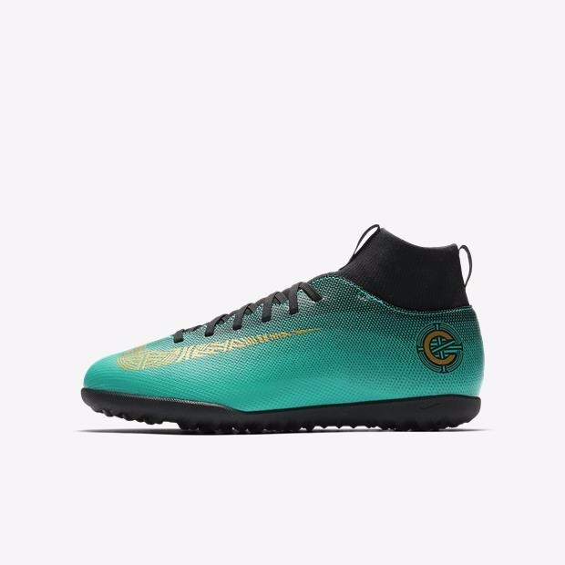 981fc1385f867 Chuteira Nike Mercurial Superfly 6 Club Cr7 Tf Infantil + Nf - R$ 279,90 em  Mercado Livre