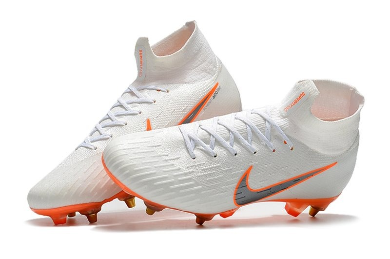 ... cano alto campo 00ddf 9e8bf  coupon for chuteira nike mercurial superfly  6 elite 360 white sg campo. carregando zoom. 9b33e328e3225