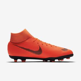 e9e8b3a8e6 Chuteira Nike Mercurial Laranja - Chuteiras Nike para Adultos no Mercado  Livre Brasil