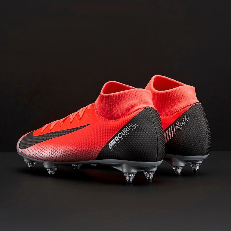 Chuteira Nike Mercurial Superfly Cr7 Vermelha - R  399 94cd0c8c5661b
