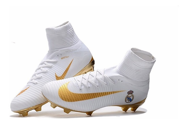 huge discount 78513 090af Chuteira Nike Mercurial Superfly V Fg Real Madrid
