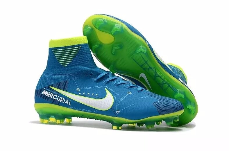 6dddfc83f9 Chuteira Nike Mercurial Superfly V Neymar Infantil Nº 36 - R  439