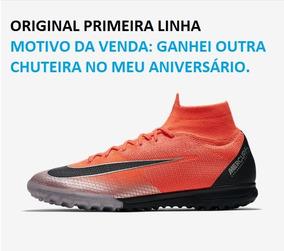 buy online 64665 0a9d8 Chuteira Nike Mercurialx Superfly Vi Elite Society - Esportes e Fitness no  Mercado Livre Brasil