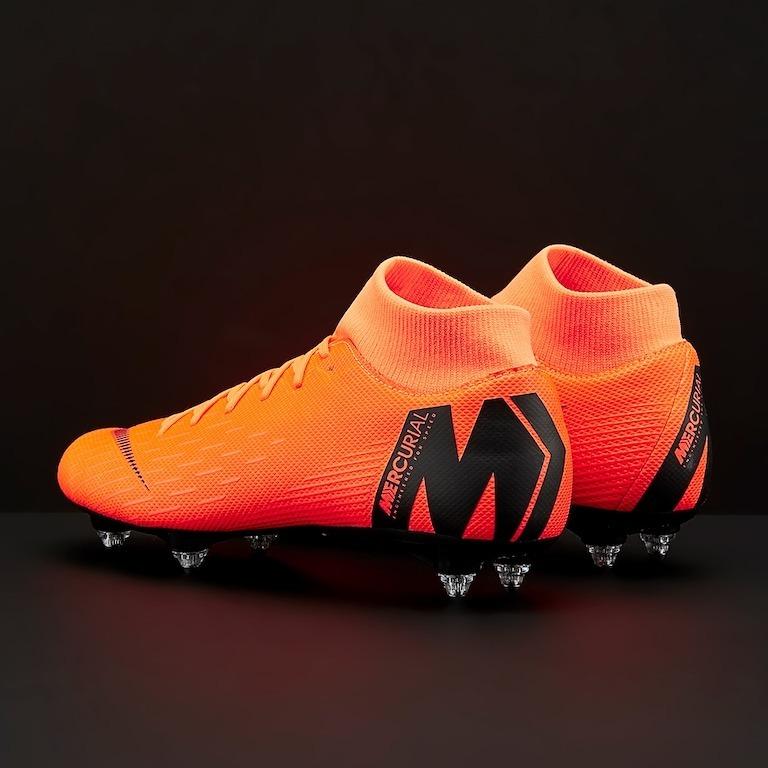 Chuteira Nike Mercurial Superfly Vl Academy Sg Total Laranja - R ... 2ab7c4674831d