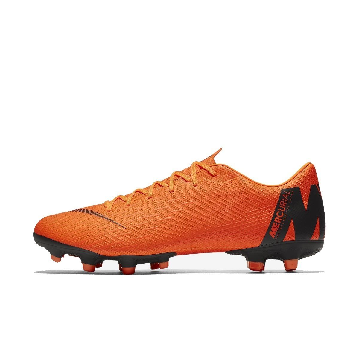 Chuteira Nike Mercurial Vapor 12 Academy Mg Campo - Laranja - R  249 ... 7c60358070bf4