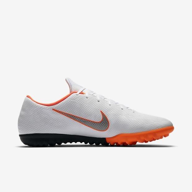 Chuteira Nike Mercurial Vapor 12 Branca Ah7384-107 L. Store - R  389 ... f3a495a40b027
