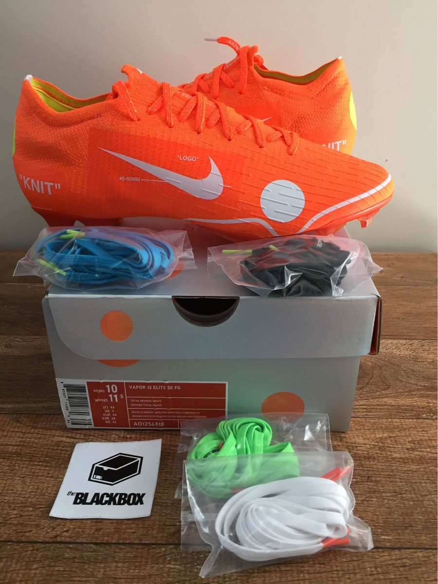 buy popular 1228a 3fa4f Chuteira Nike Mercurial Vapor 360 X Off White - Tam 42