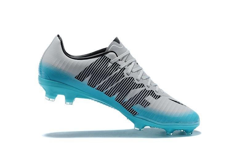 Chuteira Nike Mercurial Vapor Fg - Azul branco - R  349 13e64f21b6828