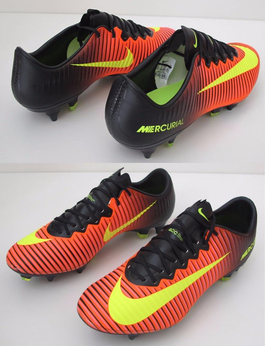 350ad940895 Chuteira Nike Mercurial Vapor Sg Pro Trava Mista Original - R  1.299 ...