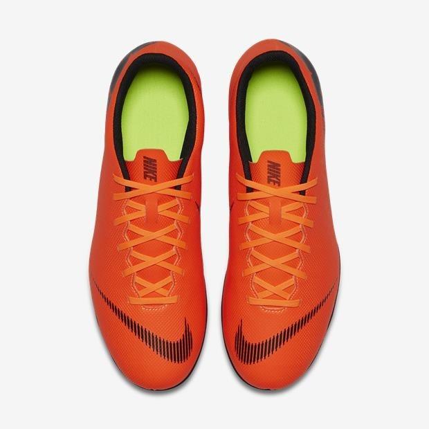 Chuteira Nike Mercurial Vapor Xii 12 Club Mg Campo - Laranja - R ... 336956a92317d