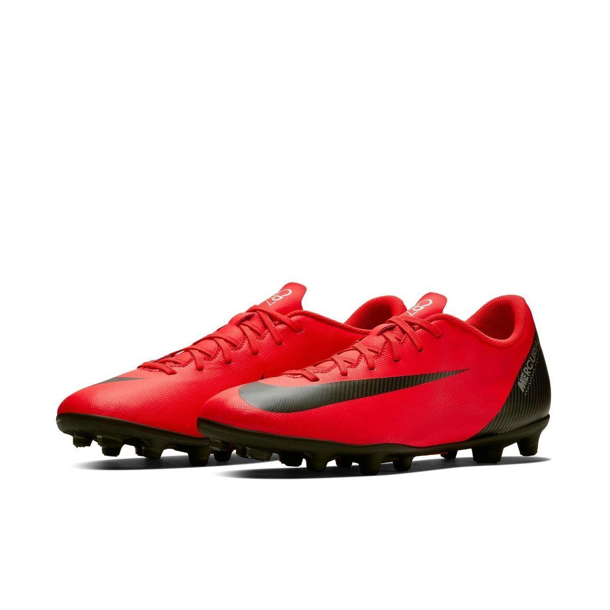 39979d0f29328 Chuteira Nike Mercurial Vapor Xii Club Cr7 Campo Original+nf - R ...