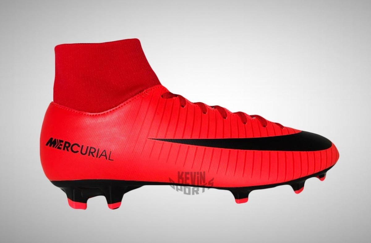 Chuteira Nike Mercurial Victory Vi Df Fg Botinha Campo - R  289 9a009fbc4e75b