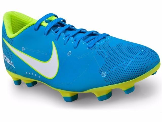 75f0497d240 Chuteira Nike Mercurial Vortex 3 Njr Fg 921511 400 - R  249