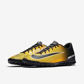 fbb01ae249035 Chuteira Nike Mercurial Vortex Lii Fg - Chuteiras Amarelo no Mercado ...