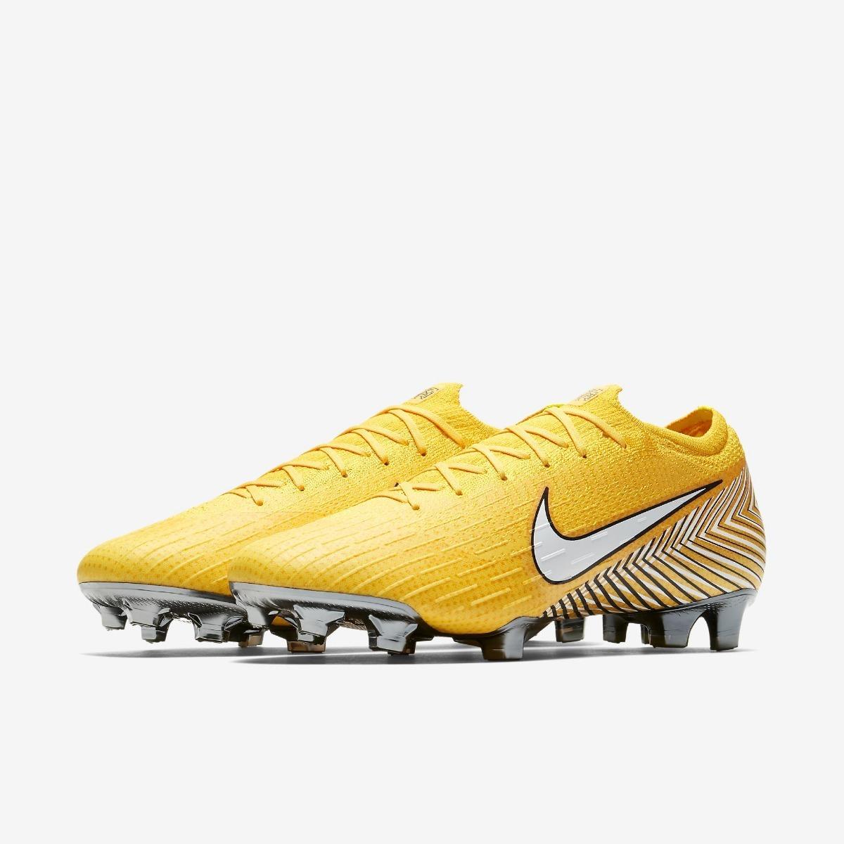 Chuteira Nike Neymar Campo Profissional Frete Grátis - R  475 d78228ad11168