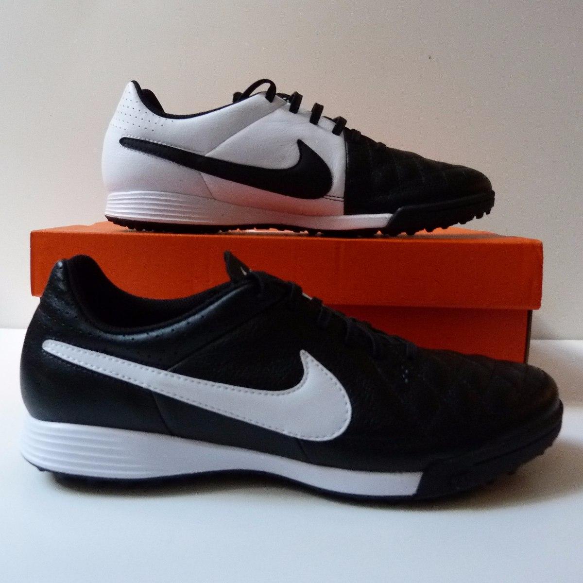 47dc231c48 Chuteira Nike Tiempo Genio Society Couro 100% Original - R  349