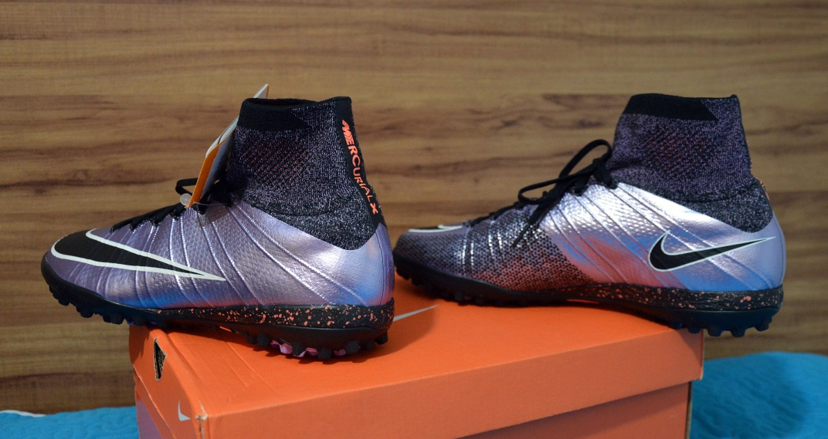 079045409f03c Chuteira Nike Mercurial Proximo X Society Botinha Original! - R  549 ...