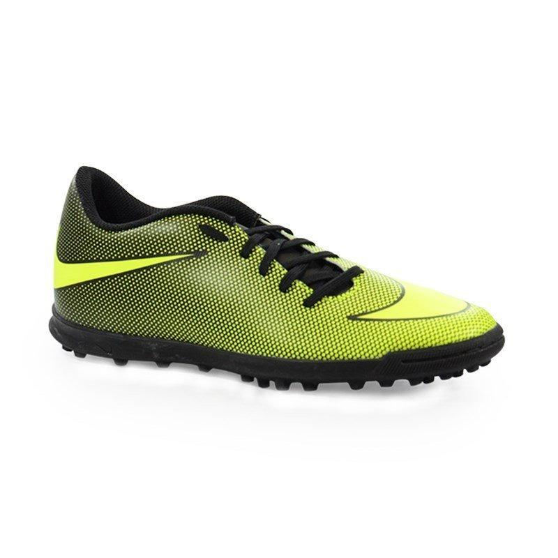 d96814cd2fe29 Chuteira Nike Society Bravatax Ii Verde Preto - 844437-070 - R  215 ...
