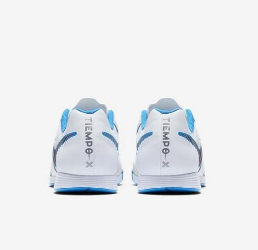 985bb31f30 Chuteira Nike Tiempo Couro Futsal - R  269