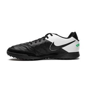 c67fa57694 Chuteira Nike Tiempo Genio 2 Leather Tf Society - 37 - Preto