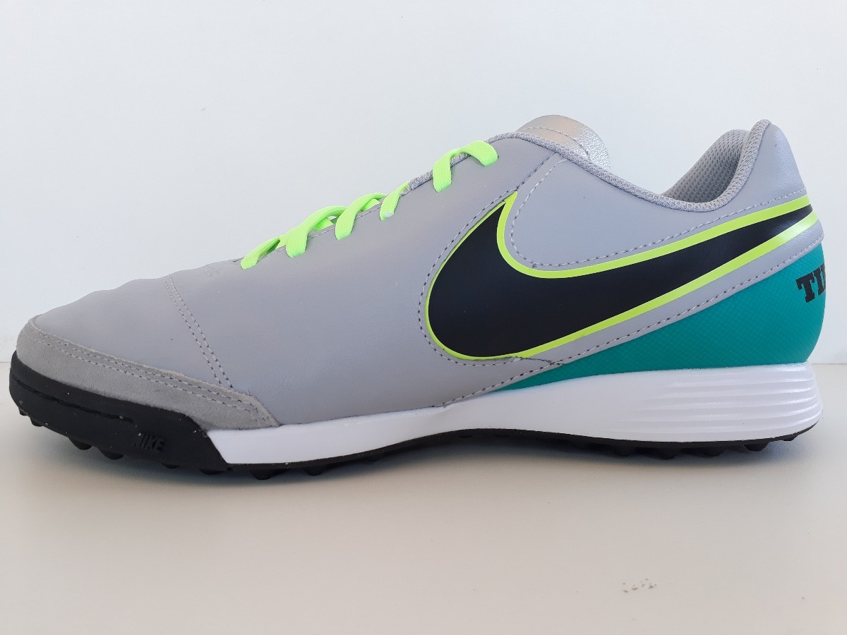 chuteira nike tiempo genio leather 2 tf - society. Carregando zoom. 76791661c126b