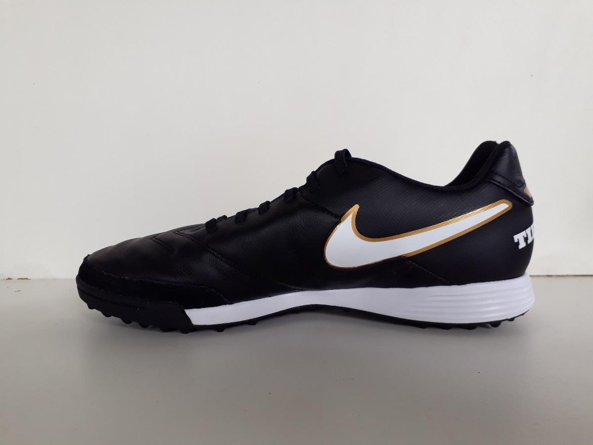 e835f520bb Chuteira Nike Tiempo Genio Leather 2 Tf - Society - R$ 259,00 em ...