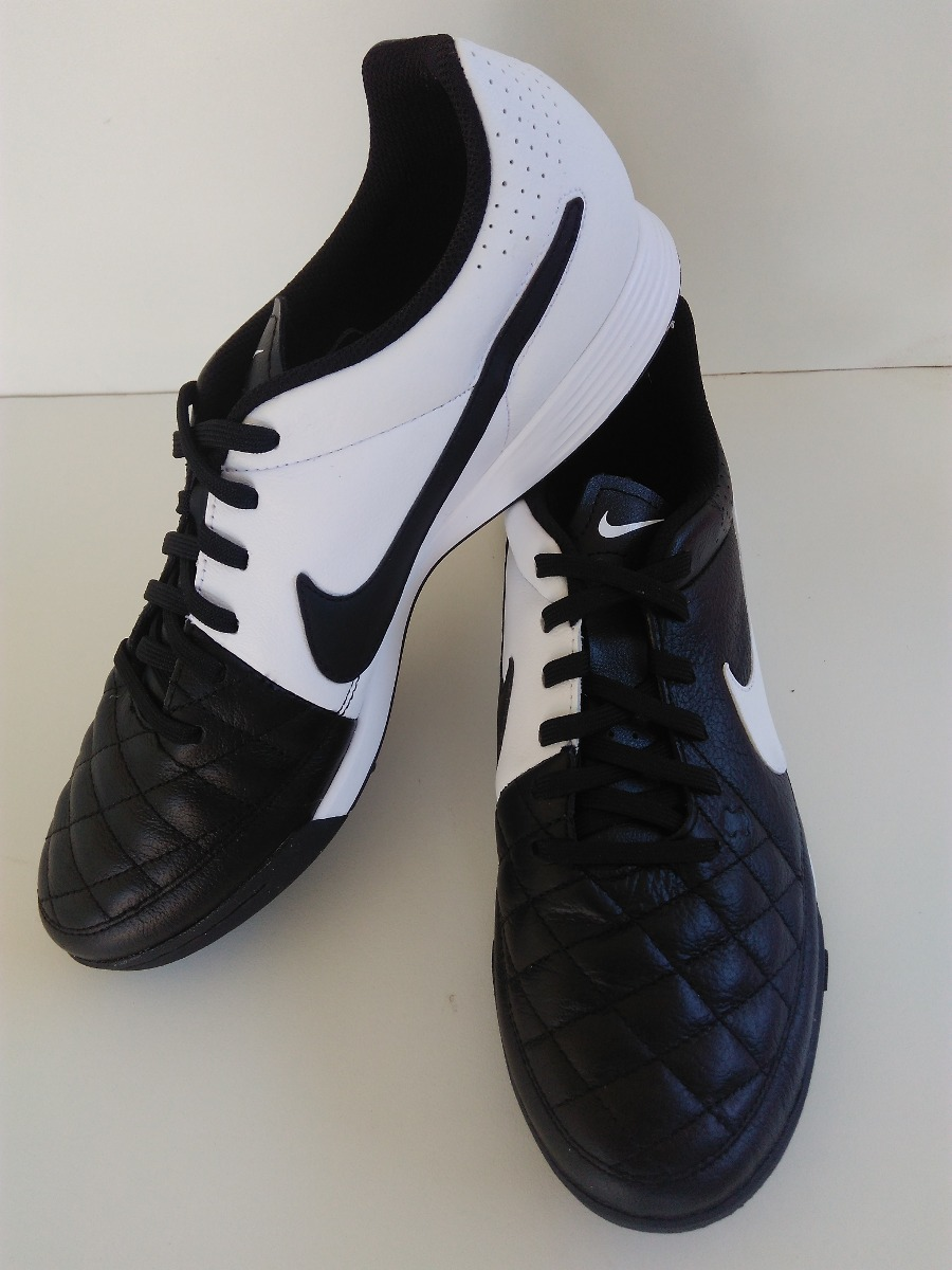 chuteira nike tiempo genio leather tf - society. Carregando zoom. 952996f6a64a0