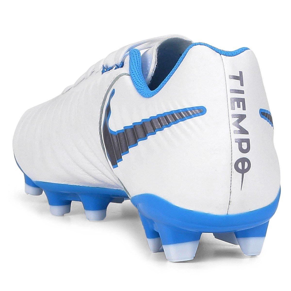 Chuteira Nike Tiempo Legend 7 Academy Fg Campo Branco - R 429 559ebdaf11c