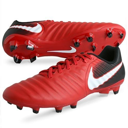 ce997b9130 Chuteira Nike Tiempo Ligera Fg Couro Futebol Campo Original! - R ...