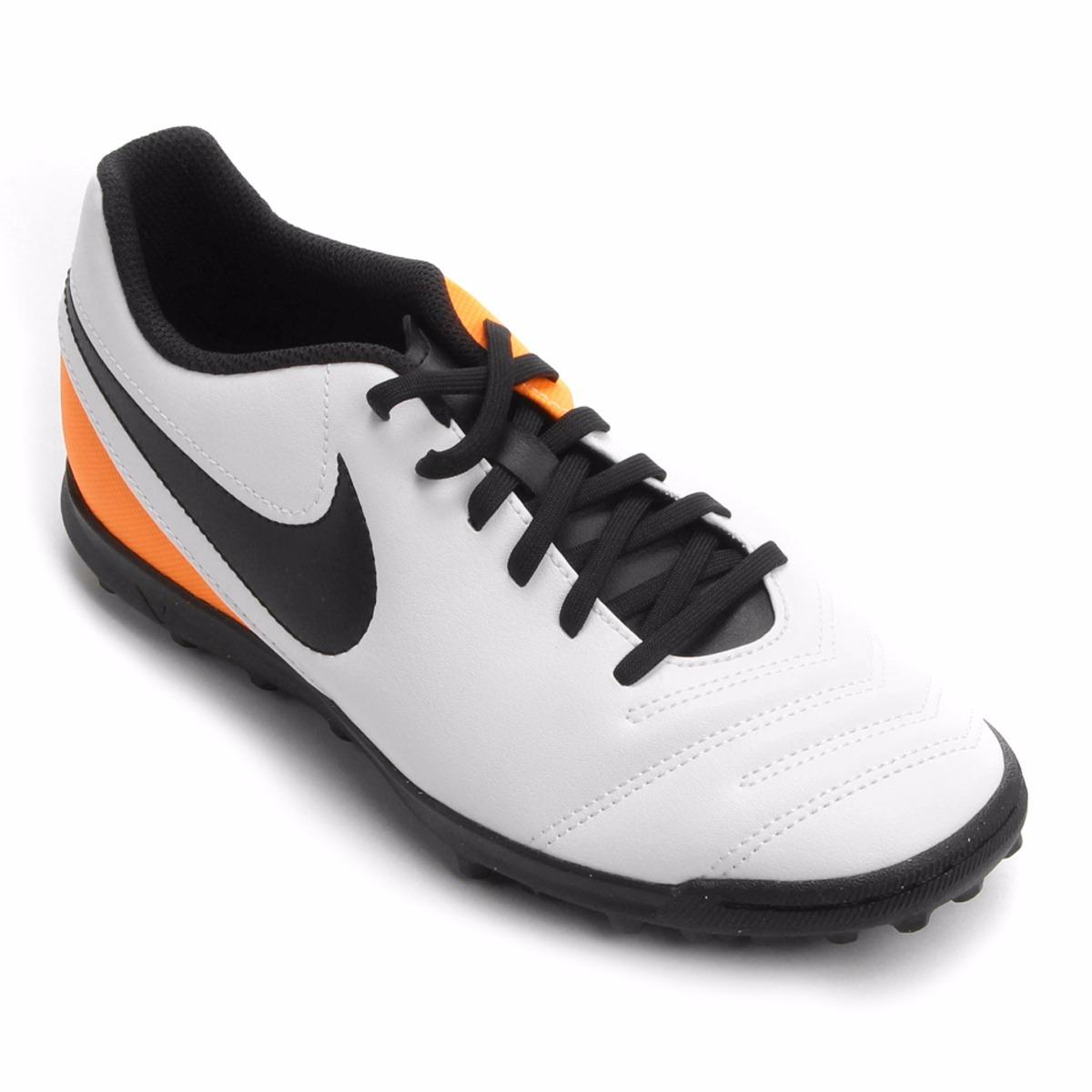 d0b35e4ca6 Chuteira Nike Tiempo Rio 3 Tf Masculino Society - 18532 - R  233