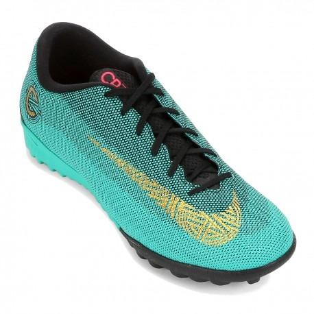 Chuteira Nike Vaporx 12 Academy Cr7 Tf Aj3732-390 - R  399 69b6c0332ee68