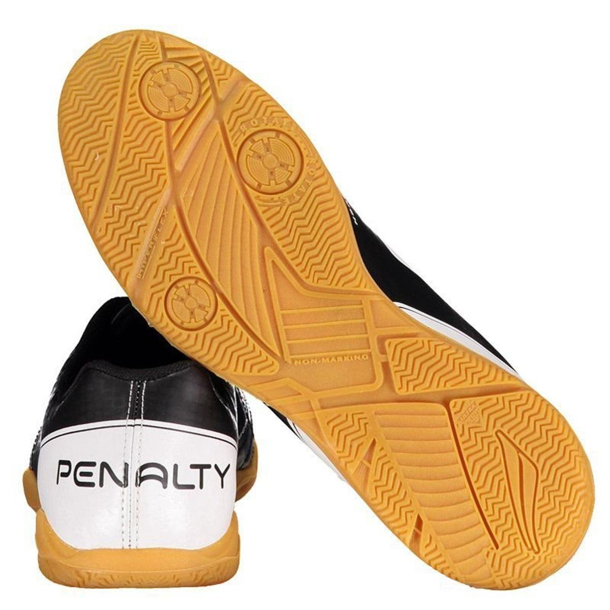 Chuteira Penalty Matís Viii Futsal Preta Super Leve - R  129 d92b1dbe223fa