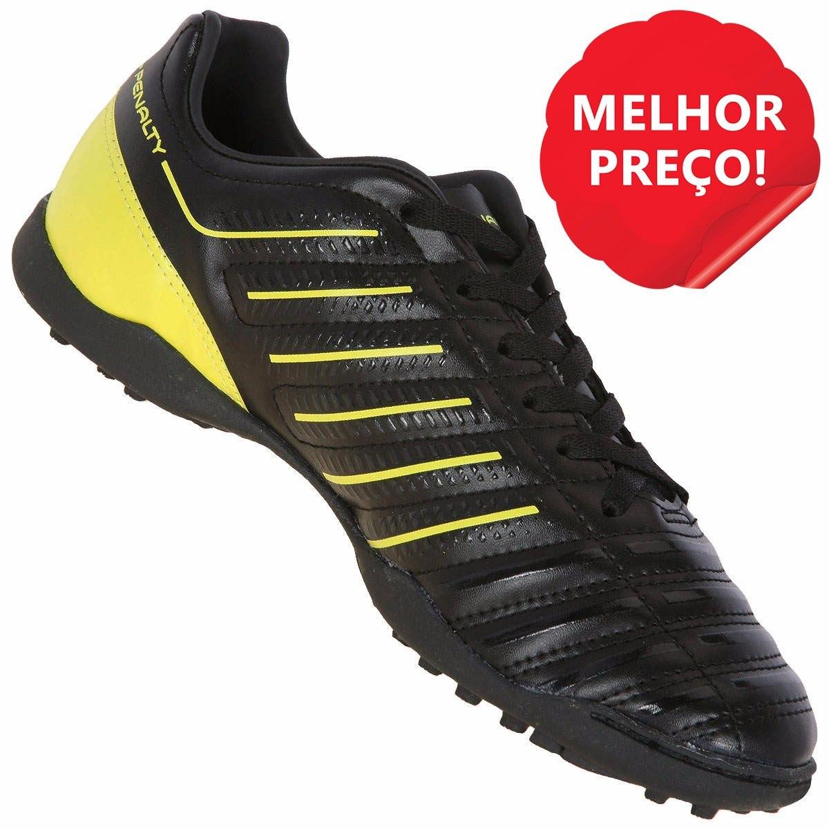 Chuteira Penalty Preta Original Masculina  c45626fc39312