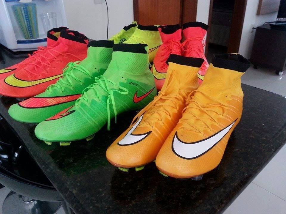 Chuteira Profissional Nike Mercurial Superfly Fg Campo - R  489 581356bfbfc10