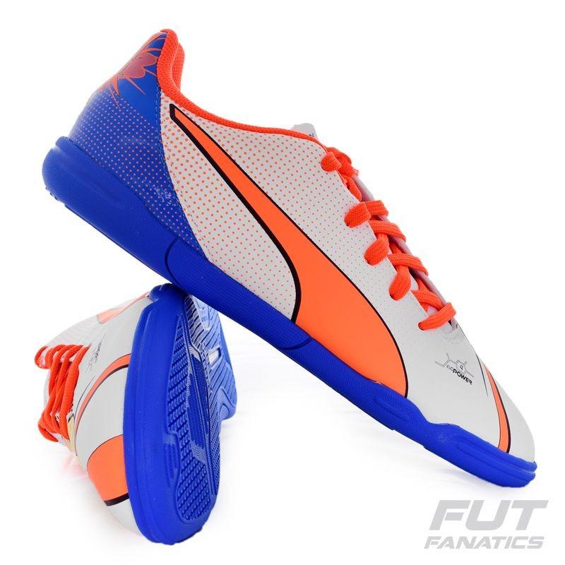 c39088cccba85 Chuteira Puma Evopower 4.2 It Futsal Juvenil - R$ 89,90 em Mercado Livre