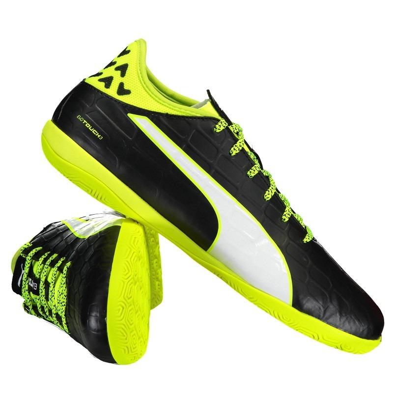 42902b03da Chuteira Puma Evotouch 3 It Futsal - R  159