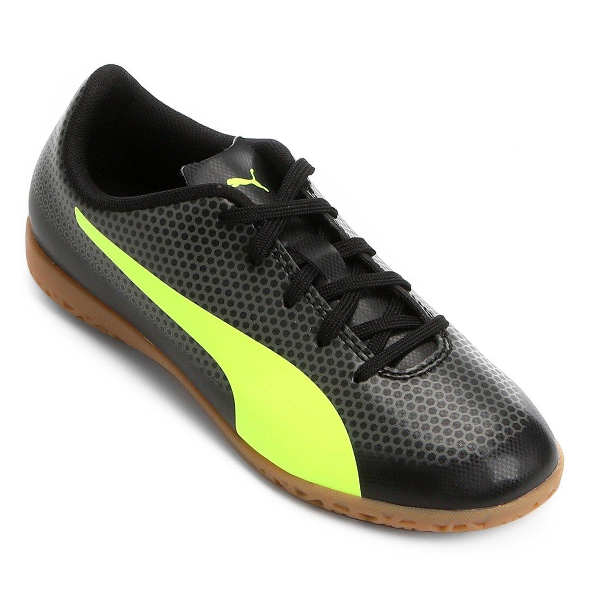 08272ad2cb Chuteira Puma Futsal Spirit Infantil - Original - R  159
