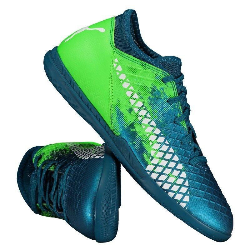 chuteira puma future 18.4 it futsal juvenil verde. Carregando zoom. 1c3e38b4f4846