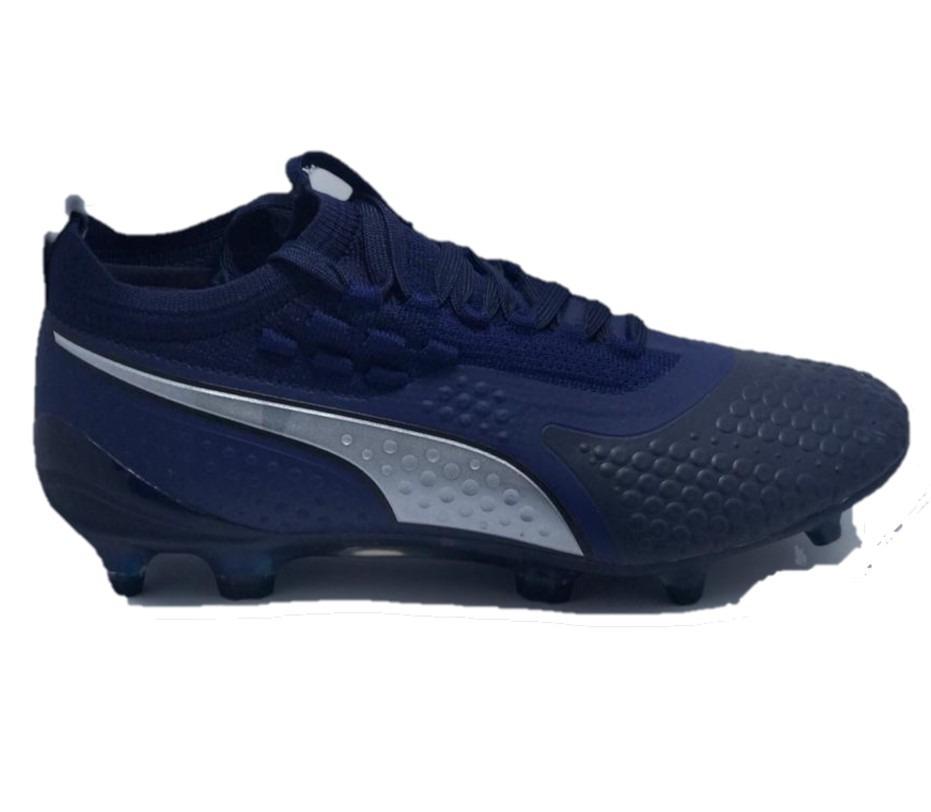 baf9741dc7 Chuteira Puma One 1 Lth Fg Blue Campo Profissional : - R$ 299,00 em ...