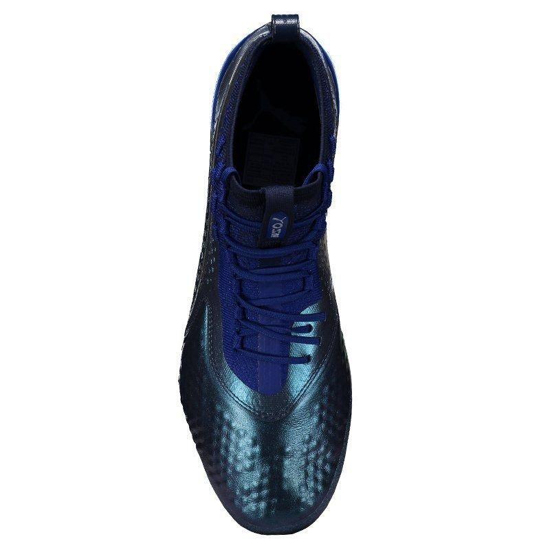 edae9179b2 Chuteira Puma One 1 Lth Fg Campo Azul - R$ 849,90 em Mercado Livre