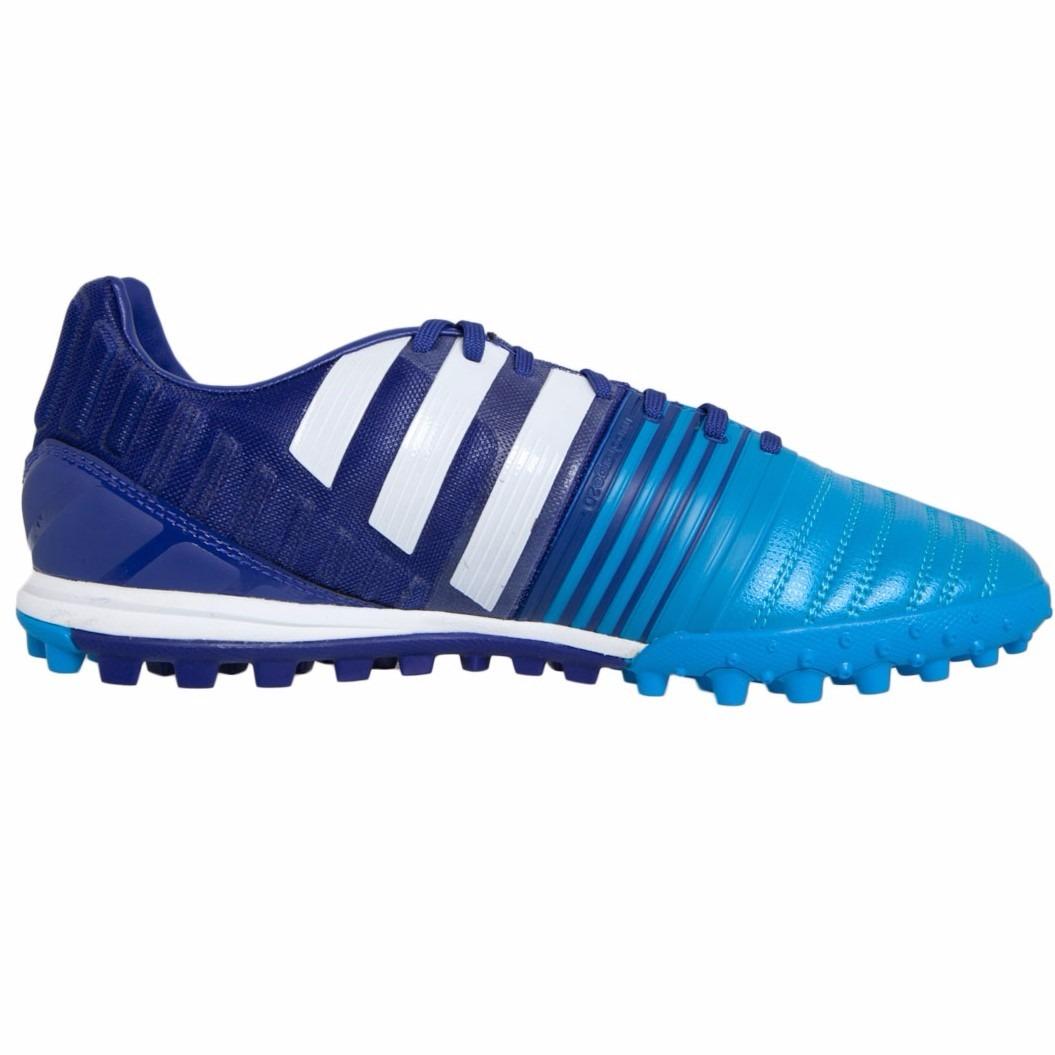 chuteira society tf adidas nitrocharge 2.0 azul tam 41 nova. Carregando zoom...  chuteira society adidas. Carregando zoom. 326bf3de31b4d