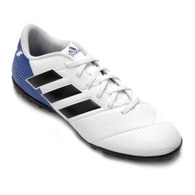 3d787eccb7 Chuteira Society Adida Branca - Chuteiras Adidas de Grama sintética com  Ofertas Incríveis no Mercado Livre Brasil