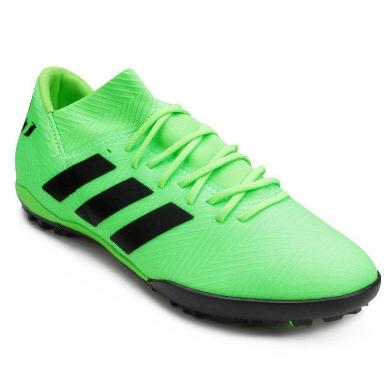 chuteira society adidas nemeziz messi tango 18.3 - verde. Carregando zoom. 225f7f0d649ab