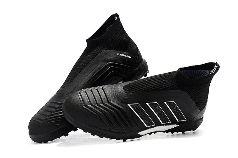 fd48852304 chuteira society adidas predator 18 black profissional   Carregando zoom.