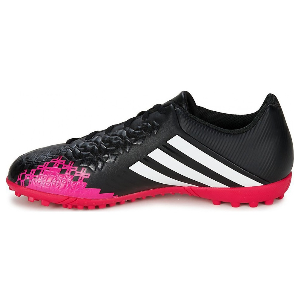 25ee13f29e chuteira society adidas predito lz trx tf - preto e rosa. Carregando zoom.