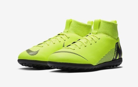 f09d9cc5e Chuteira Society Infantil Nike Mercurial Superfly 6 Club - R  239
