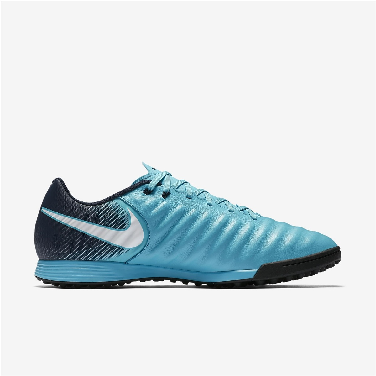 73ed76a220 Chuteira Society Nike Tiempo X Ligera 4 Tf Couro Original Nf - R ...