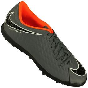 ac17a4a606ced Chuteira Nike Hypervenom Laranja Preto - Chuteiras Nike de Grama sintética  no Mercado Livre Brasil