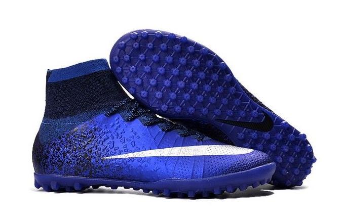 Chuteira Society Nike Mercurial Cr7 Botinha Número 33 Ao 36 - R  399 ... 26e1fe3e8cc09